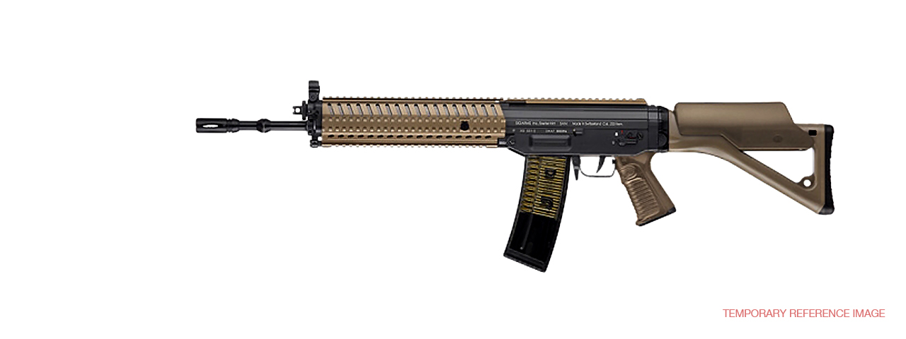 ICS-153 SG-551 MRS FULL METAL AEG (COLOR: DARK EARTH) - Click Image to Close