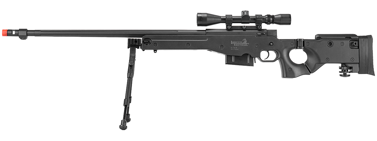 Lt 96d Awp Gas Powered Bolt Action Rifle W Scope Bi Pod Color