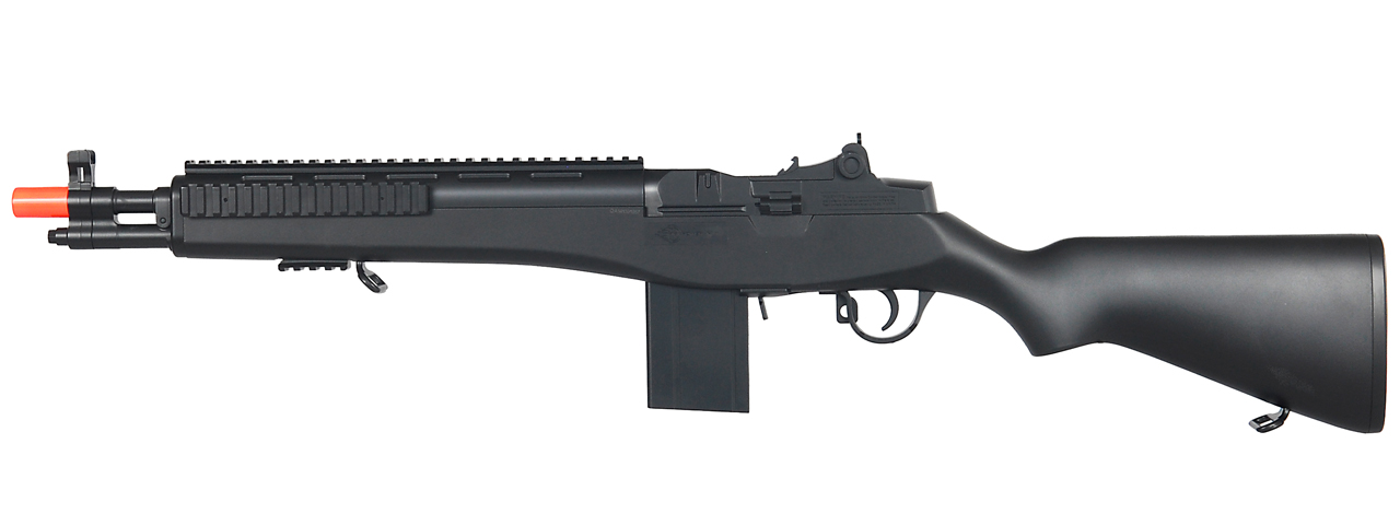 double eagle m305f m14 spring powered rifle color black