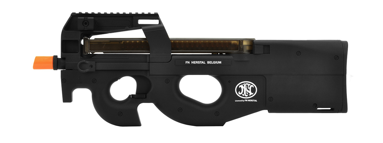 CYBERGUN AIRSOFT P90 AEG LICENSED BY FN HERSTAL - BLACK - Click Image to Close