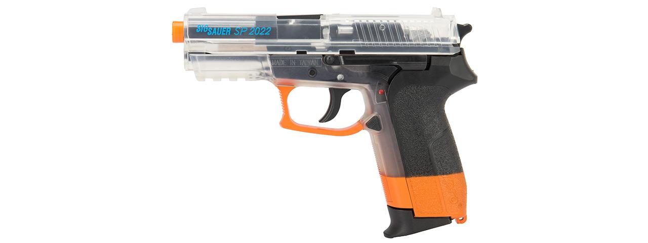 Sig Sauer SP2022 CO2 Airsoft Pistol (CLEAR / ORANGE) [28547