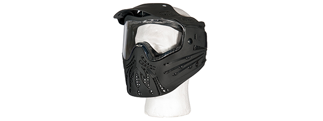 AC-175B FULL FACE PROTECTION MASK (BLACK)