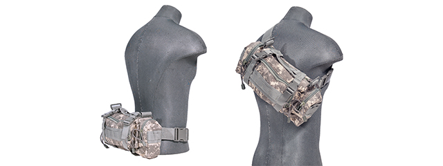 AC-180A TACTICAL BUTTPACK (COLOR: ACU)
