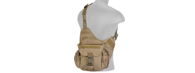 CA-366T TACTICAL MESSENGER BAG (TAN)