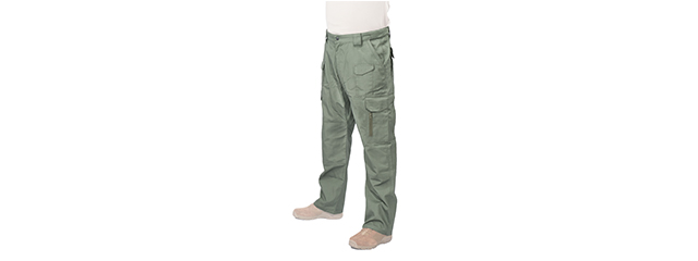 CA-396XS TACTICAL OUTDOOR PANTS (COLOR: OD GREEN) WAIST: 30 INCH