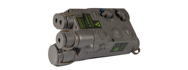 AN/PEQ-16 BATTERY CASE (COLOR: FOLIAGE GREEN)