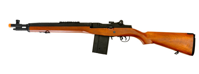 CYMA CM032A(WOOD) M14 SOCOM AEG METAL GEAR (COLOR: WOOD)