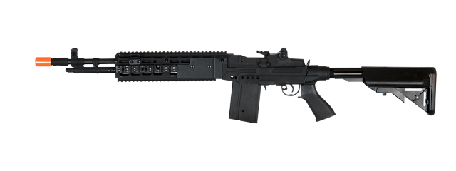 Cyma CM032EBR-B M14 EBR RIS AEG Metal Gear, Full Metal Body, Adjustable Crane Stock in Black