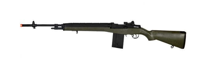Cyma CM032GREEN M14 AEG Metal Gear, ABS Body in OD Green