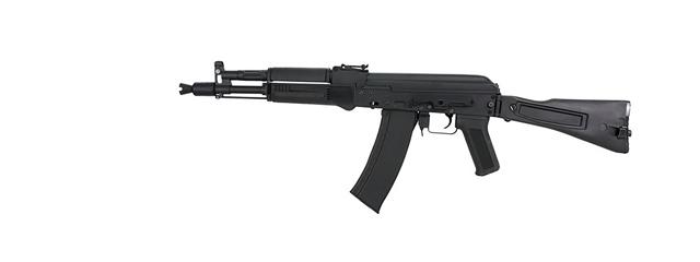 Cyma CM040D AK-105 AEG Metal Gear, Full Metal Body, Side Folding Stock in Black
