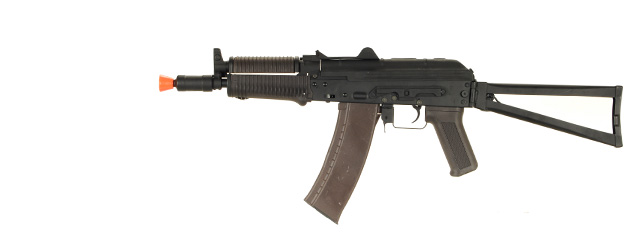 Cyma CM045 AKS-74U AEG Metal Gear, Full Metal Body, ABS Hand Guard and Grip, Metal Side Folding Stock