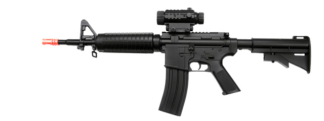D92 AEG Plastic Gear M4 with Adjustable LE Stock