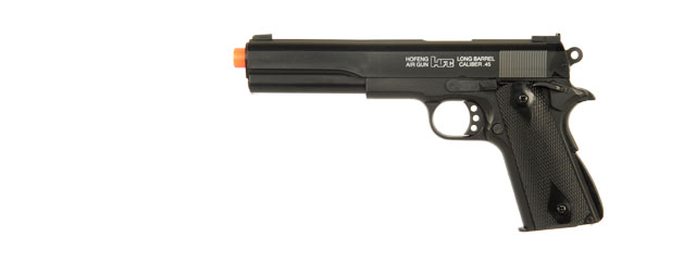 HFC AIRSOFT PREMIUM SPRING PISTOL WITH EMBEDDED SIGHT - BLACK