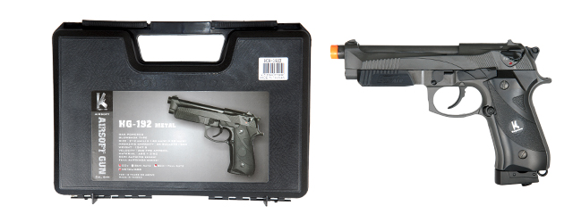 HFC HCA-192X CO2 Gas Powered Pistol with Blowback - Semi and Auto
