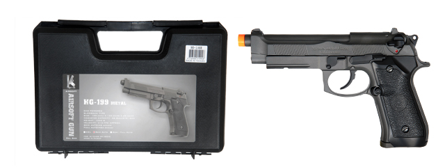 HFC HG-199 Gas Powered Pistol with Blowback - Semi Only