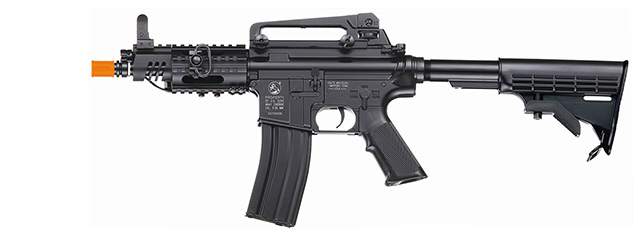 ICS ICS-28 M4 CQB AEG, Retractable LE Stock in Black