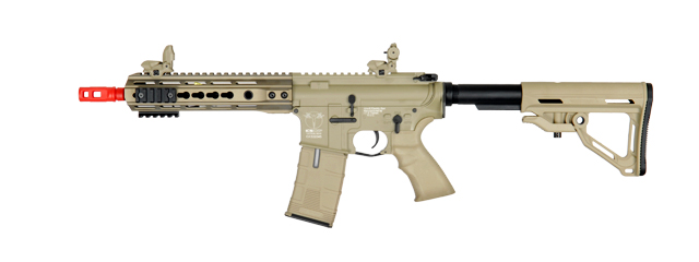 ICS-IMT-260-1 M4 KEY MOD FULL METAL AEG, SHORT VERSION (TAN)