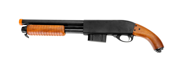 A&K IU-8870 Full Metal High Power Spring Shotgun w/ ABS stock