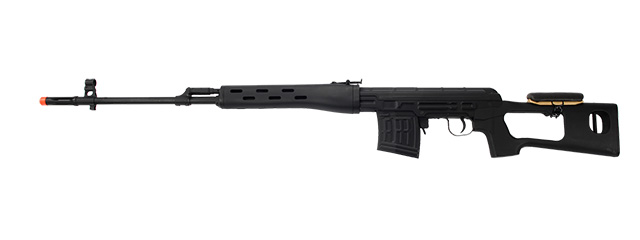 A&K IU-SVD AK Spring Rifle Full Metal Body w/ and Removable Cheek Rest