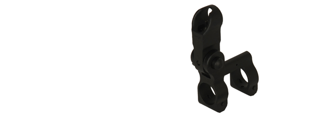 GOLDEN EAGLE FULL METAL F6613 FLIP UP FRONT SIGHT - BLACK