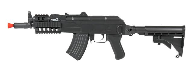 LT-16C AKS-74U RIS AEG METAL GEAR w/RETRACTABLE LE STOCK (COLOR: BLACK)