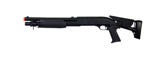 Double Eagle M56C Tri-Shot Spring Shotgun Retractable Stock