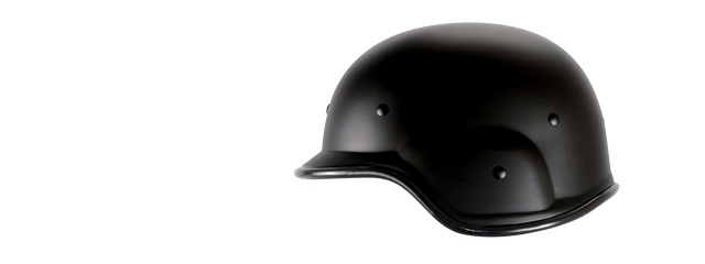 UK ARMS AIRSOFT TACTICAL SIMPLE STYLE HELMET - BLACK