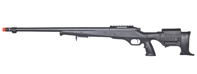 WELL MB11B BOLT ACTION RIFLE w/FLUTED BARREL (COLOR: BLACK)