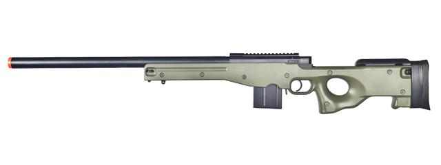 WELL MB4401G L96 AWP BOLT ACTION RIFLE (COLOR: OD GREEN)