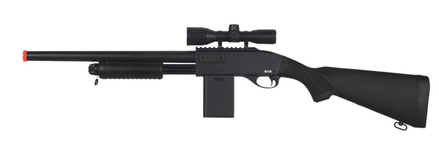 UKARMS P1566B Spring Shotgun in Black
