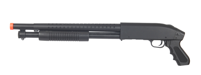 P1788 SPRING POWERED SHOTGUN (BLACK)
