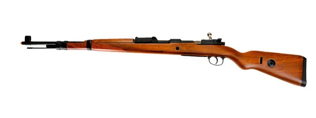 Dboys WW1101 KAR 98 Bolt Action Replica Rifle, 5 Ejecting Bullet Shells Included