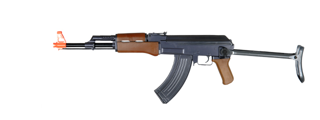 Cyma ZM93S AK-47S Spring Rifle with Under Folding Stock, Full Sized