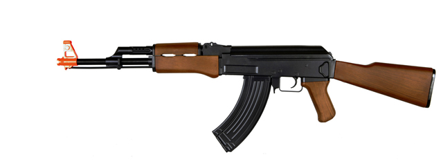Cyma ZM93 AK-47 Spring Rifle with Fixed Stock, Full Sized