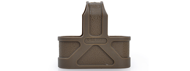 ELEMENT 5.56 NATO MAGAZINE RUBBER PULL FOR M4 - DARK EARTH