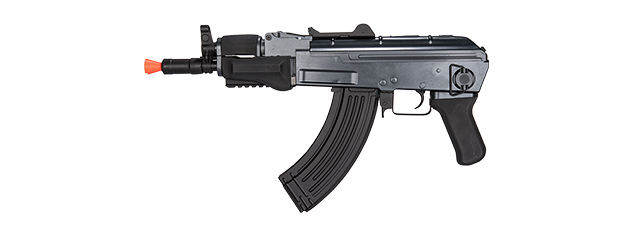 GALAXY AIRSOFT POLYMER BETA AEG AK47 CQB RIFLE - BLACK