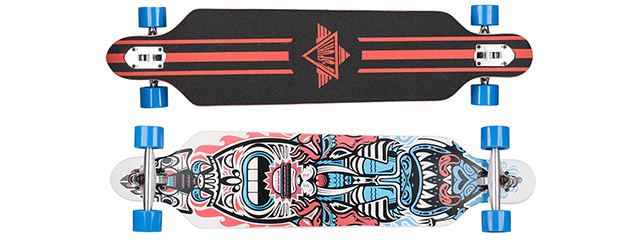 L-SPORT TWO-SIDED MONSTER COMPLETE LONGBOARD