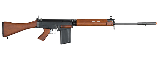 AR-024-W ARES METAL AEG FAL AIRSOFT BATTLE RIFLE (REAL WOOD)