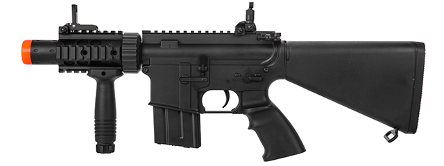 IU-CQB2-NB STUBBY M4 CQB FULL METAL AEG (COLOR: BLACK)