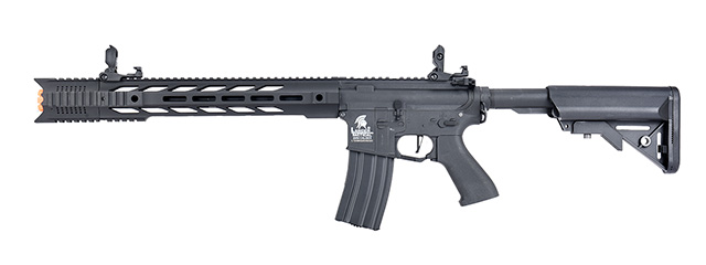 "Lancer Tactical LT-25 Hybrid Gen 2 M4 SPR ""Interceptor"" Airsoft AEG [HIGH FPS] (BLACK)"