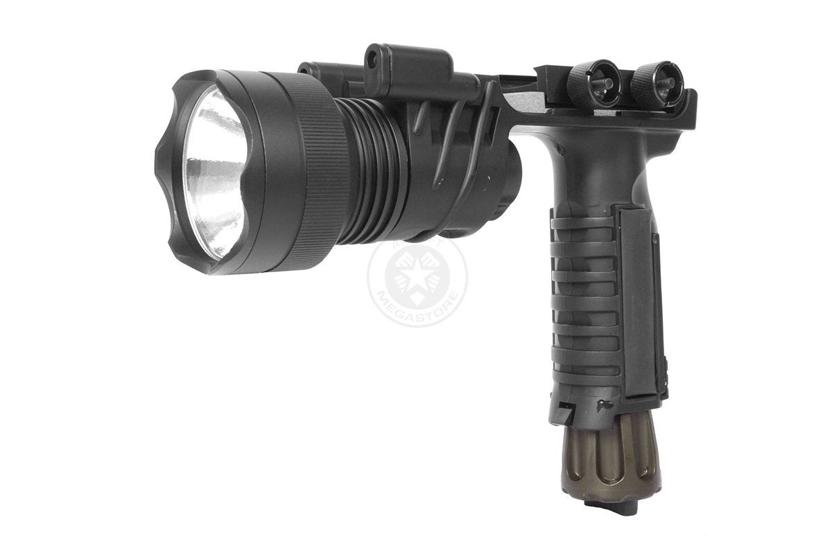 Trilogy Tactical G900 Foregrip LED Flashlight w/ 2X LED Nav Lights