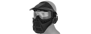 2607 Full Face Mask w/Goggle Lens Eye Protection