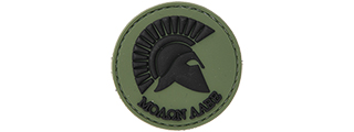AC-110A MOLAN LABE PVC PATCH (GREEN)