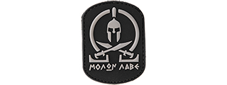 AC-110C MOLAN LABE PVC PATCH (BLACK)