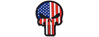 AC-110G USA PUNISHER PVC PATCH