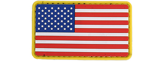 AC-110N COLOR US FLAG PVC PATCH