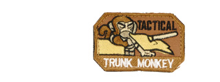 UKARMS AC-121 Tactical Trunk Monkey Tan Velcro Patch