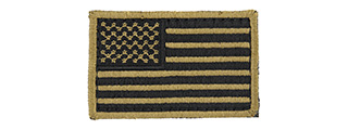 AC-140M AMERICAN FLAG PATCH (TAN)