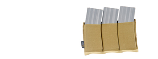 AC-151T Triple M4 Magazine Pouch - Coyote Brown