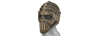 "UK ARMS AIRSOFT FULL FACE WIRE MESH ""SPINE TINGLER"" MASK"